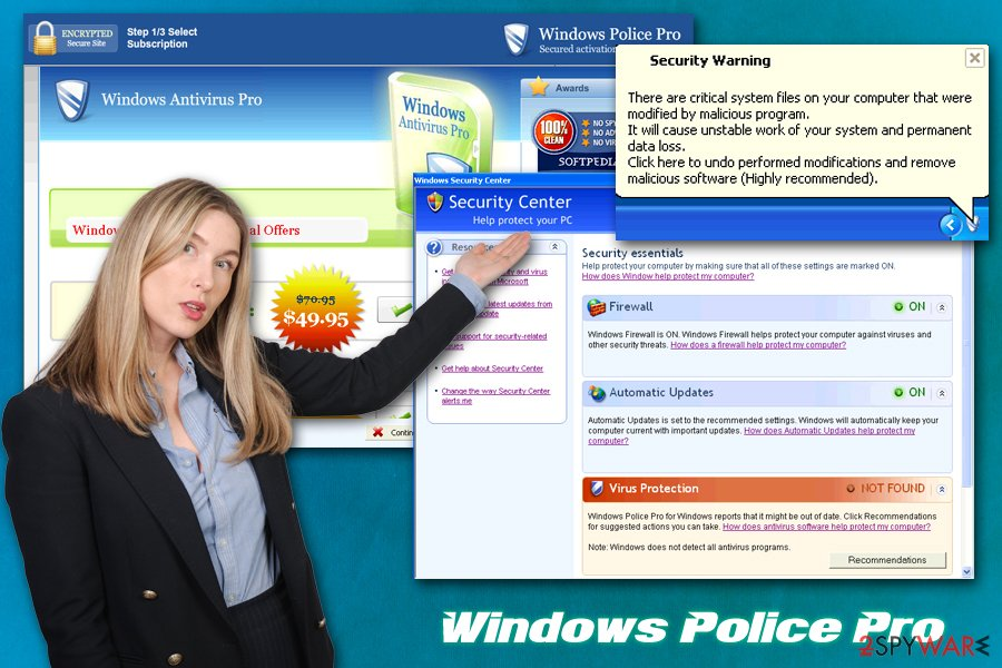 Windows Police Pro malware