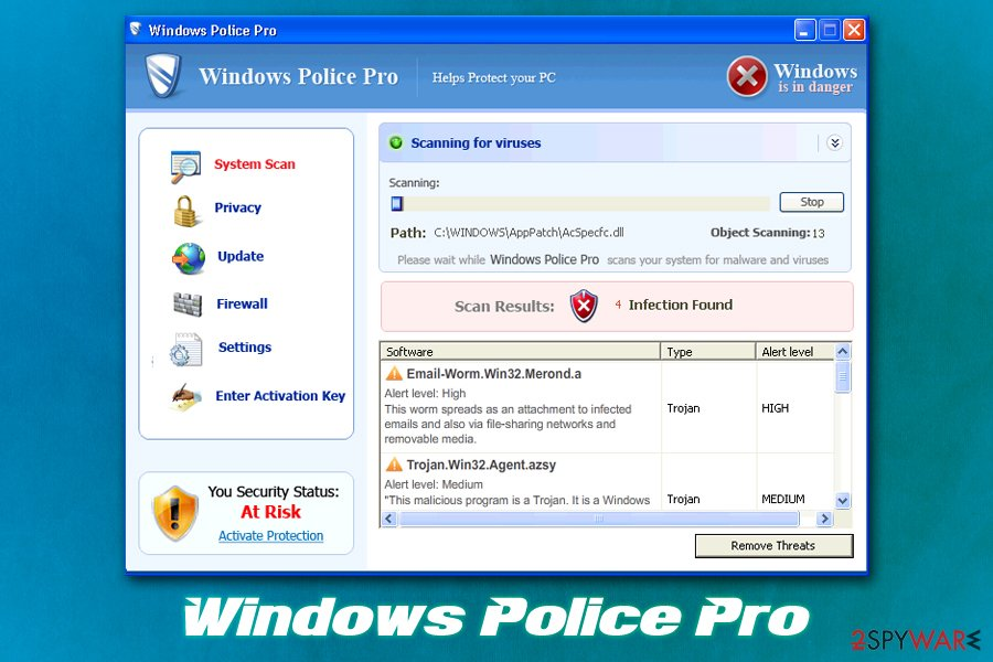 Windows Police Pro virus