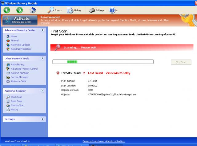 Windows Privacy Module