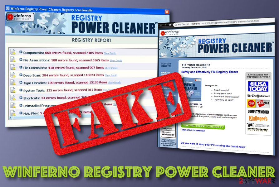 Winferno Registry Power Cleaner