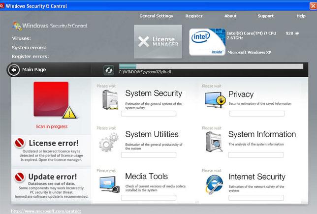 Windows Security & Control