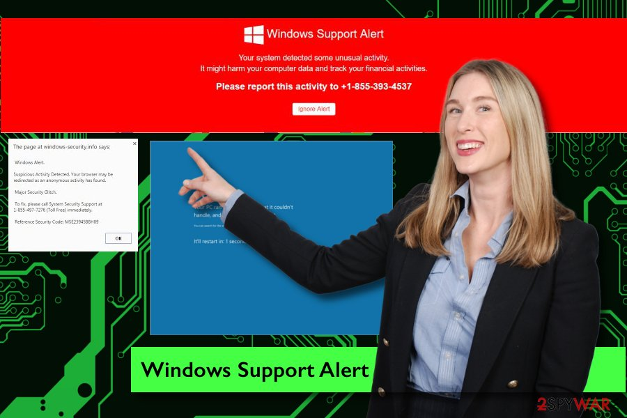 Windows Support Alert scam