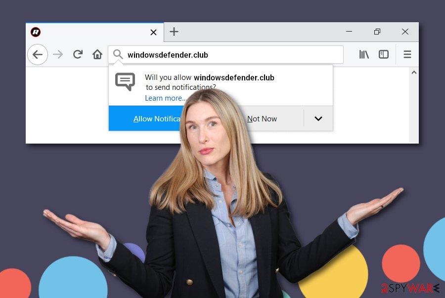 Windowsdefender.club virus