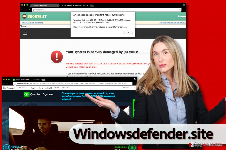 Windowsdefender.site virus