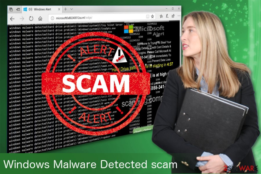 Windows Malware Detected adware