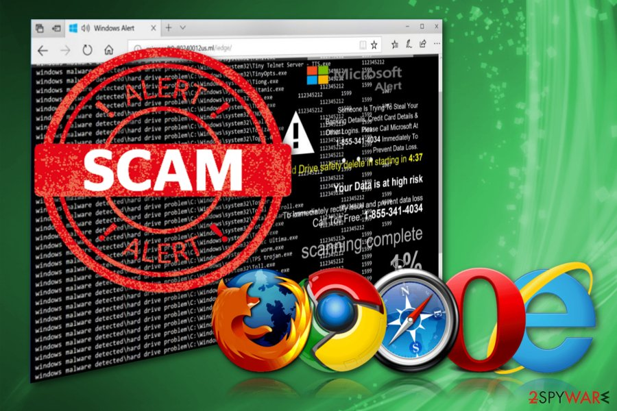 Windows Malware Detected scam
