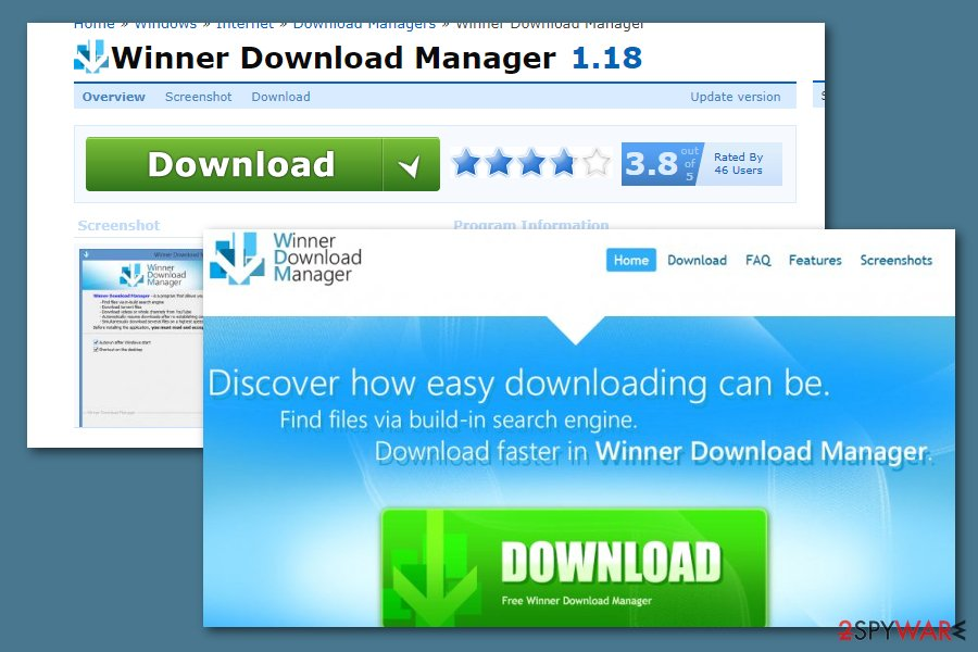 Winner Download Manager virus