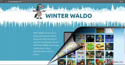 The screenshot of Winter Waldo virus