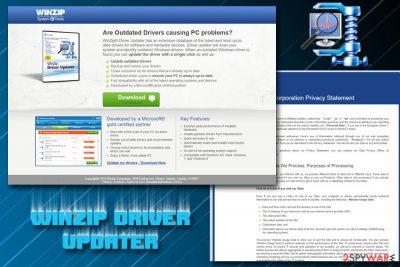 WinZip Driver Updater PUP
