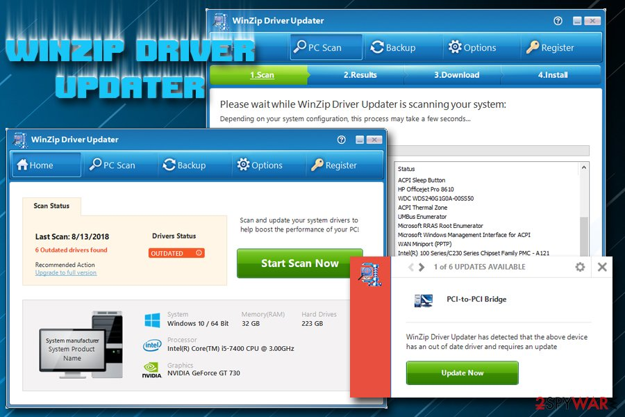 winzip driver updater free license key