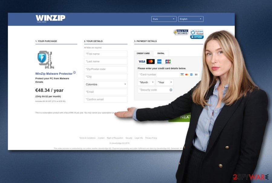 WinZip Malware Protector virus