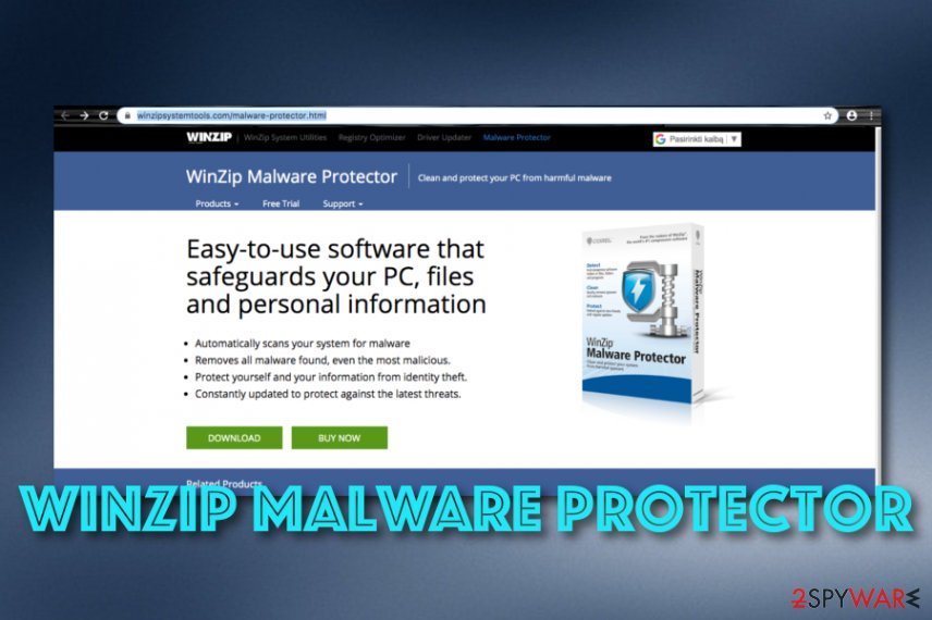 WinZip Malware Protector app