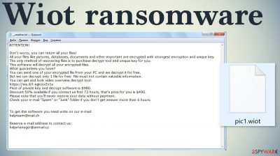 Wiot ransomware