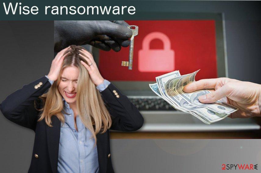 Wise ransomware virus