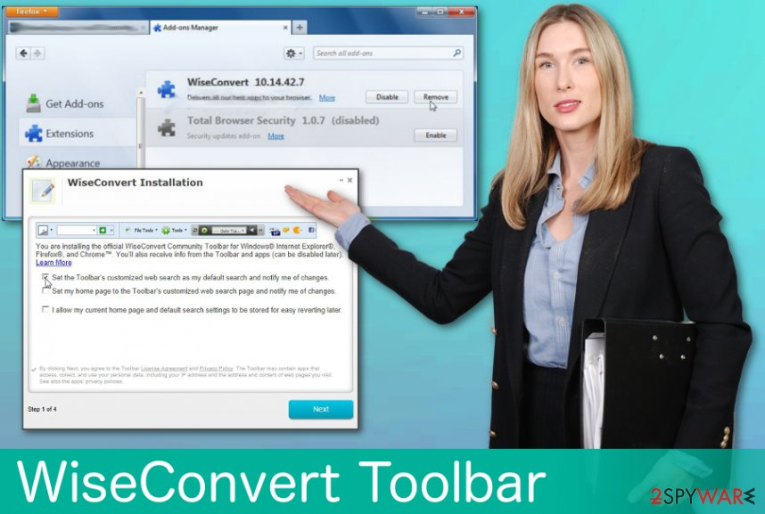 WiseConvert Toolbar virus