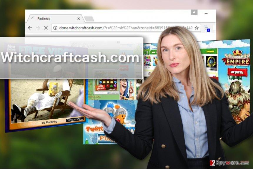 Witchcraftcash.com adware virus