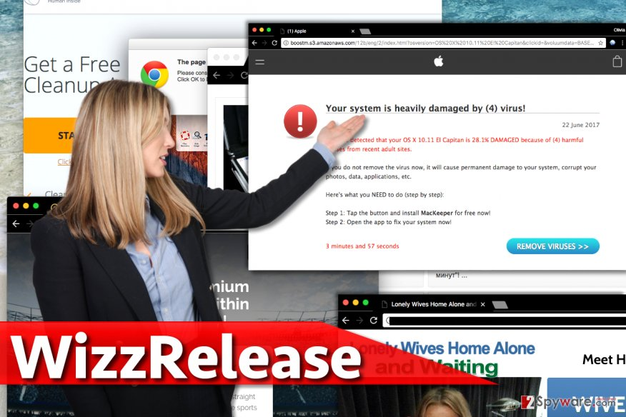WizzRelease ads