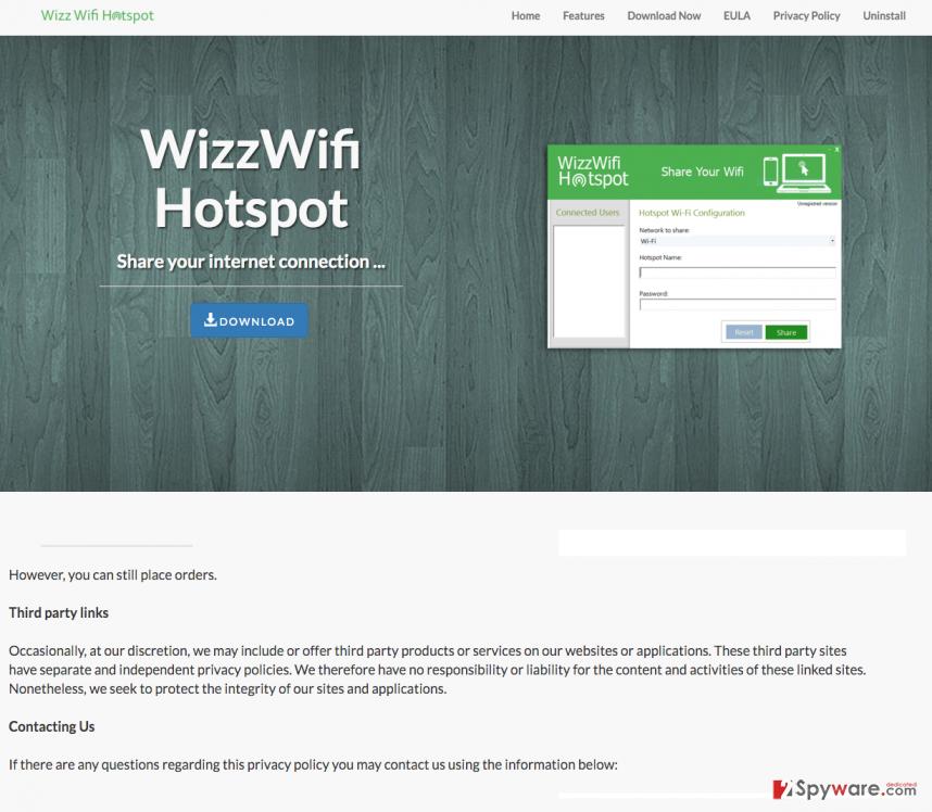 Wizz Wifi Hotspot ads