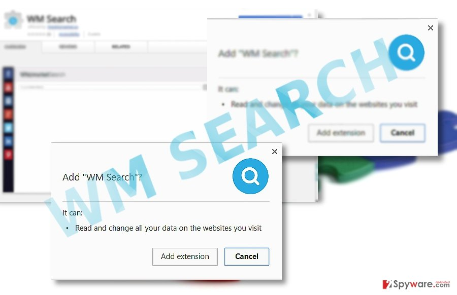 The example of WM Search