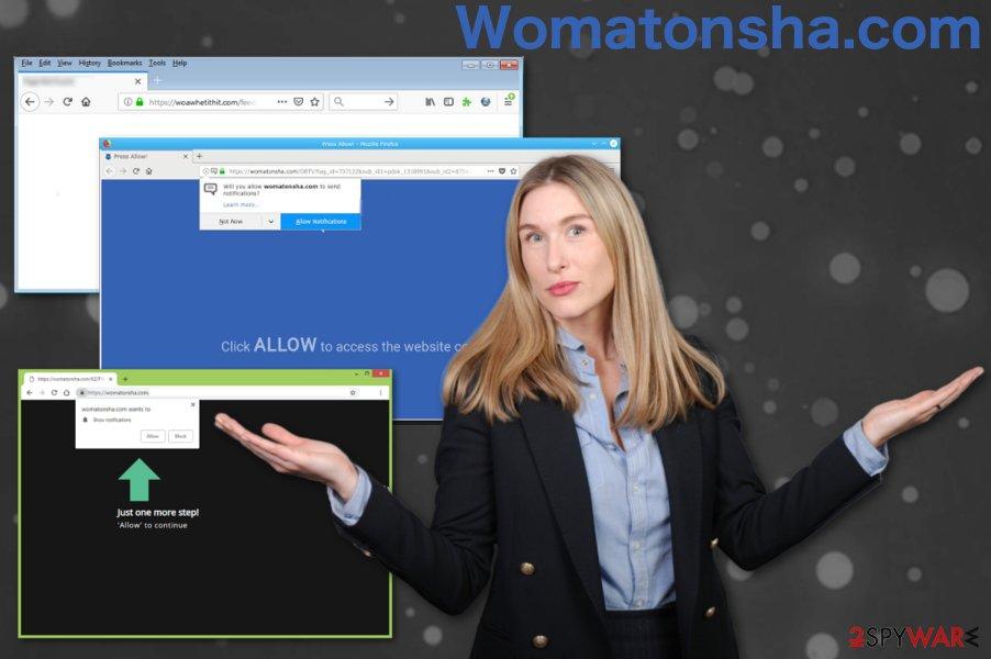Womatonsha.com virus
