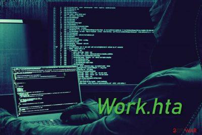 Work.hta trojan horse