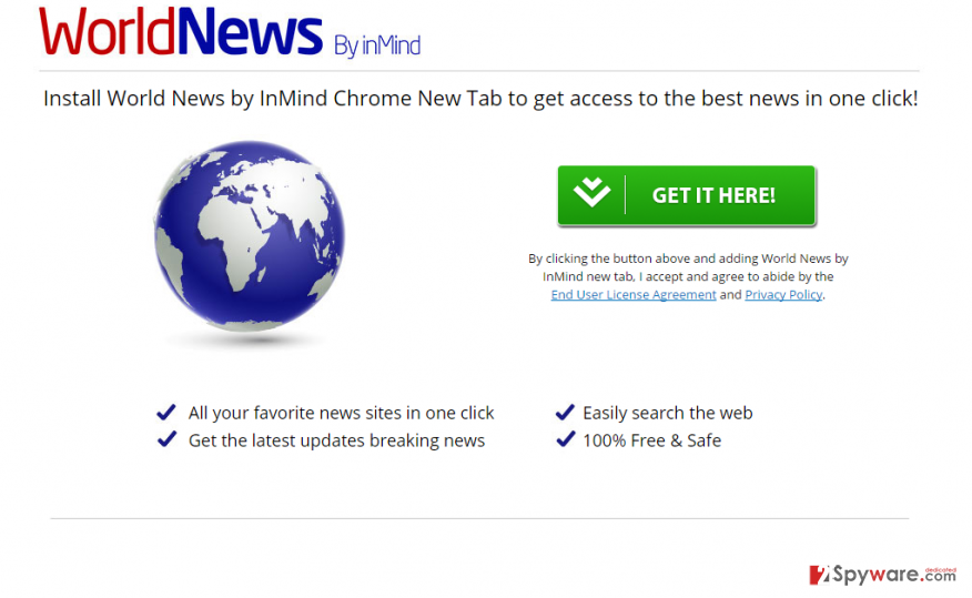WorldNews New Tab