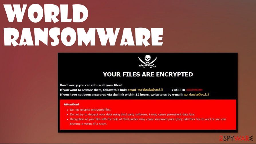 World ransomware
