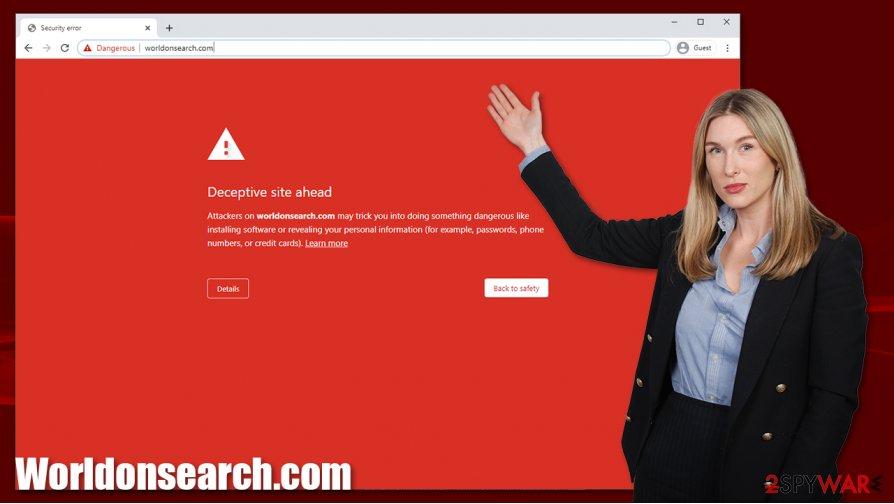 Worldonsearch.com phishing