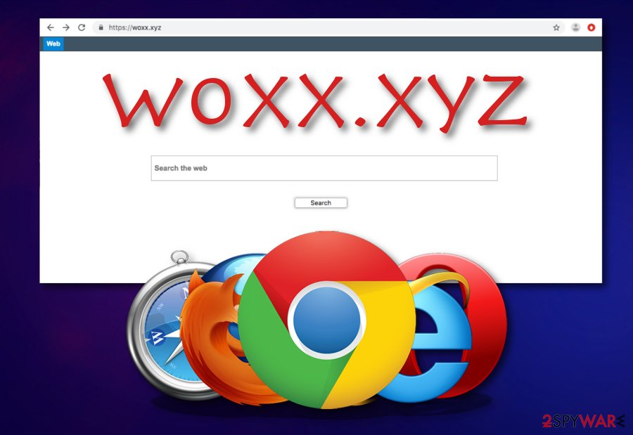 Woxx.xyz browser hijacker