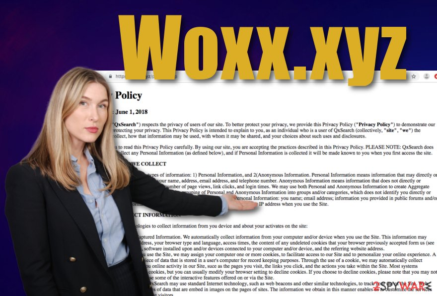 Woxx.xyz potentially unwanted program