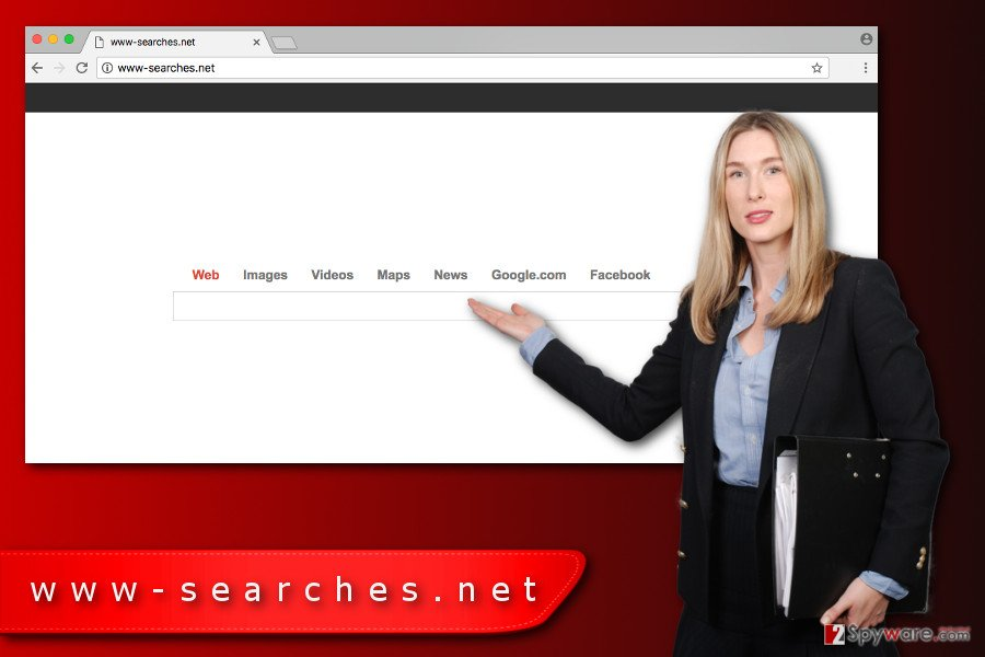 The image of Www-searches.net virus