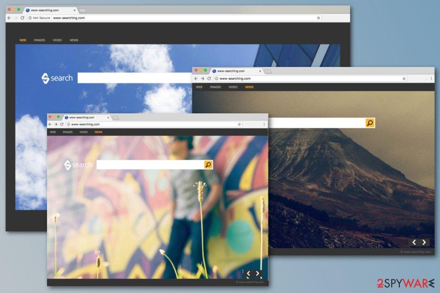 www-searching.com browser hijacker