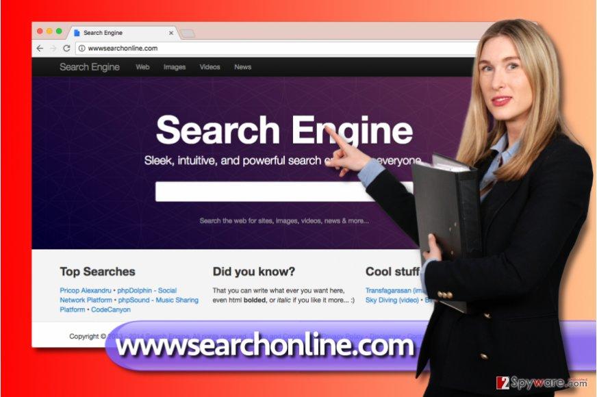 wwwsearchonline.com redirect virus