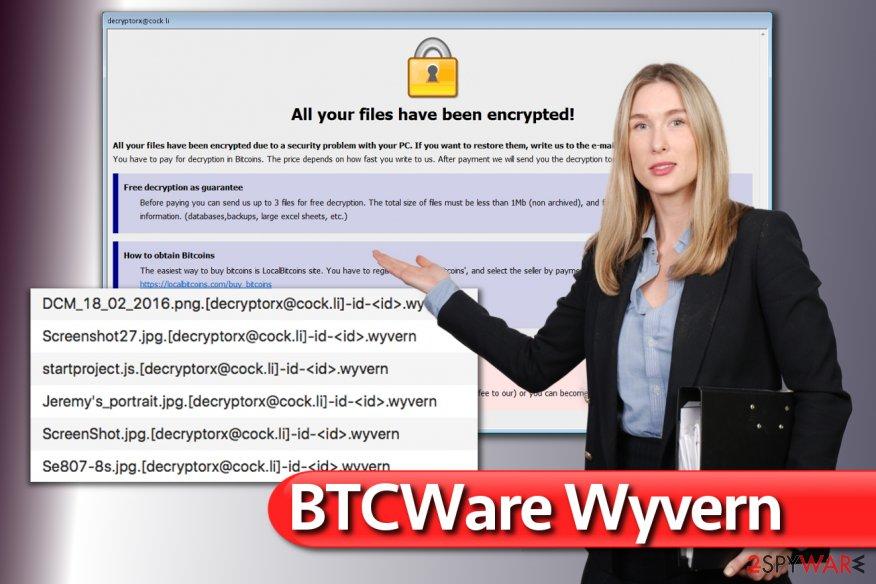 BTCWare Wyvern virus