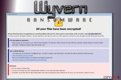 Wyvern ransomware