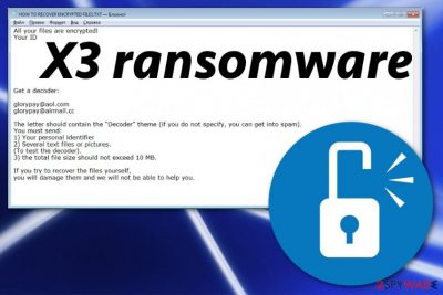 X3 ransomware