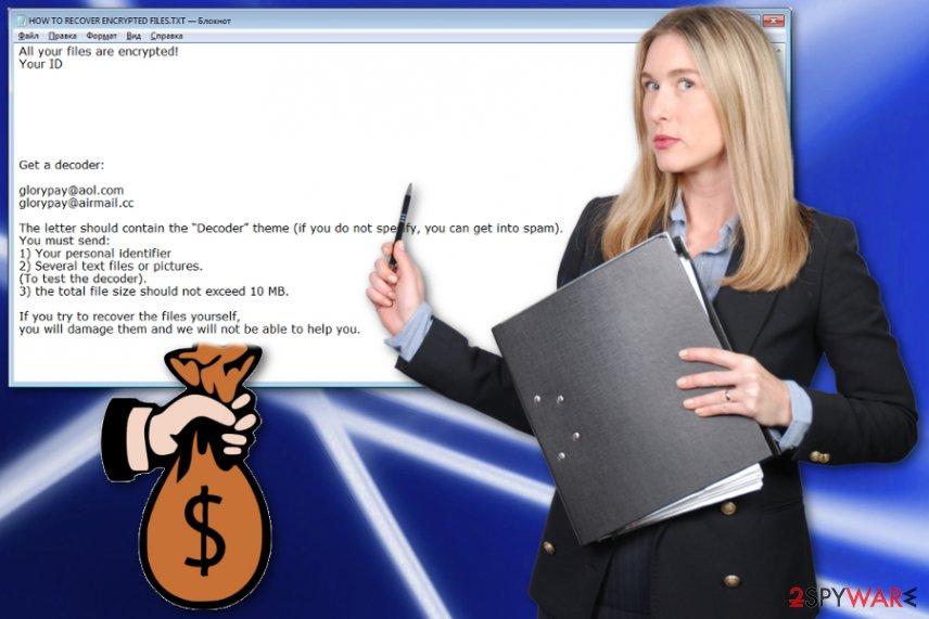 X3 ransomware virus
