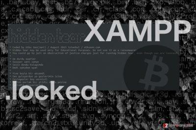 Image illustrating Xampp Locker virus