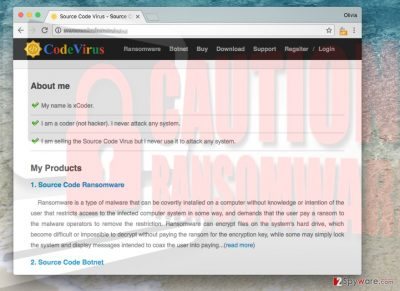 Picture of Xbotcode@gmail.com ransomware