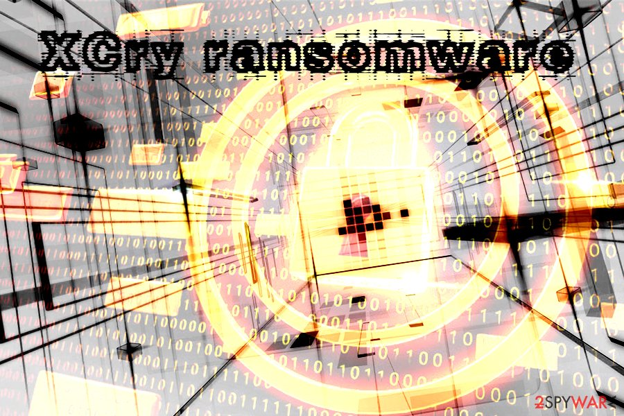 XCry ransomware