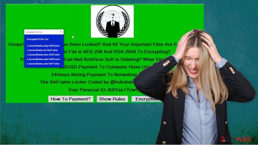 XinFrams ransomware virus
