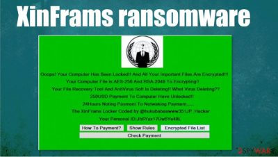 XinFrams ransomware