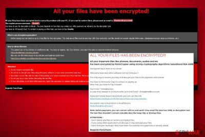 XINOF ransomware virus