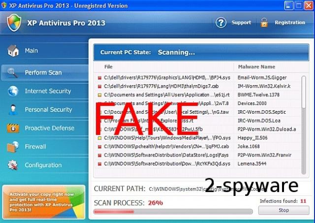 XP Antivirus Pro 2013