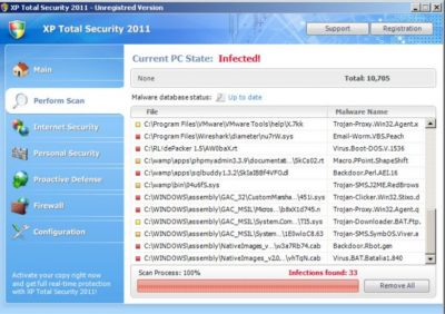 XP Total Security 2011