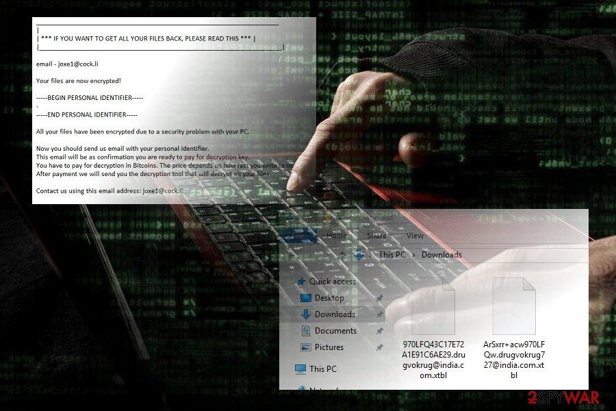 .xtbl crypto-virus