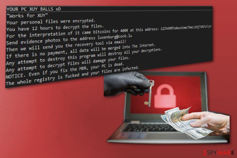 XUY ransomware virus