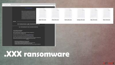 xxx ransomware