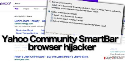 Yahoo Community SmartBar virus