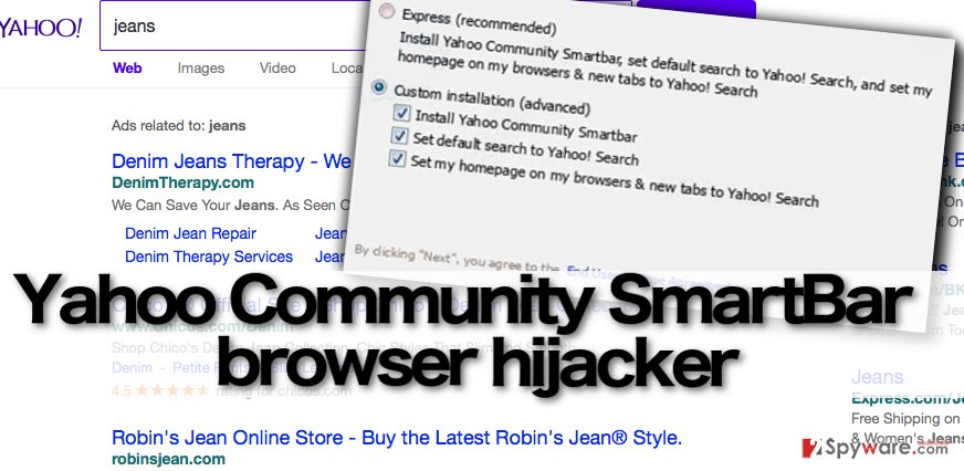 Install software carefully to prevent Yahoo Community SmartBar hijack